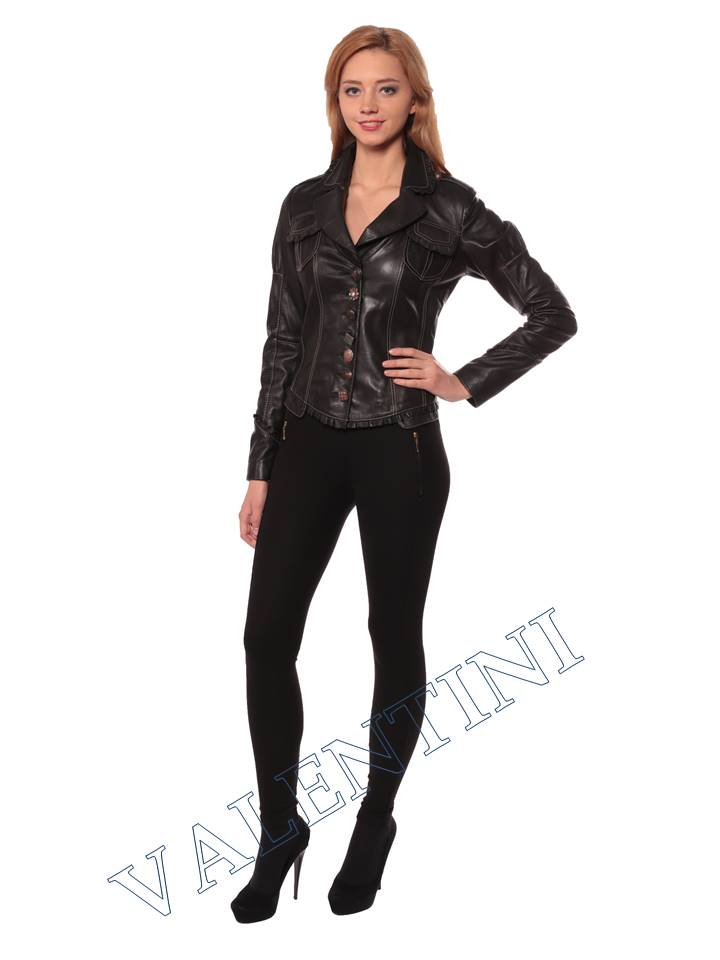 Женская кожаная куртка SUED MOD fimia