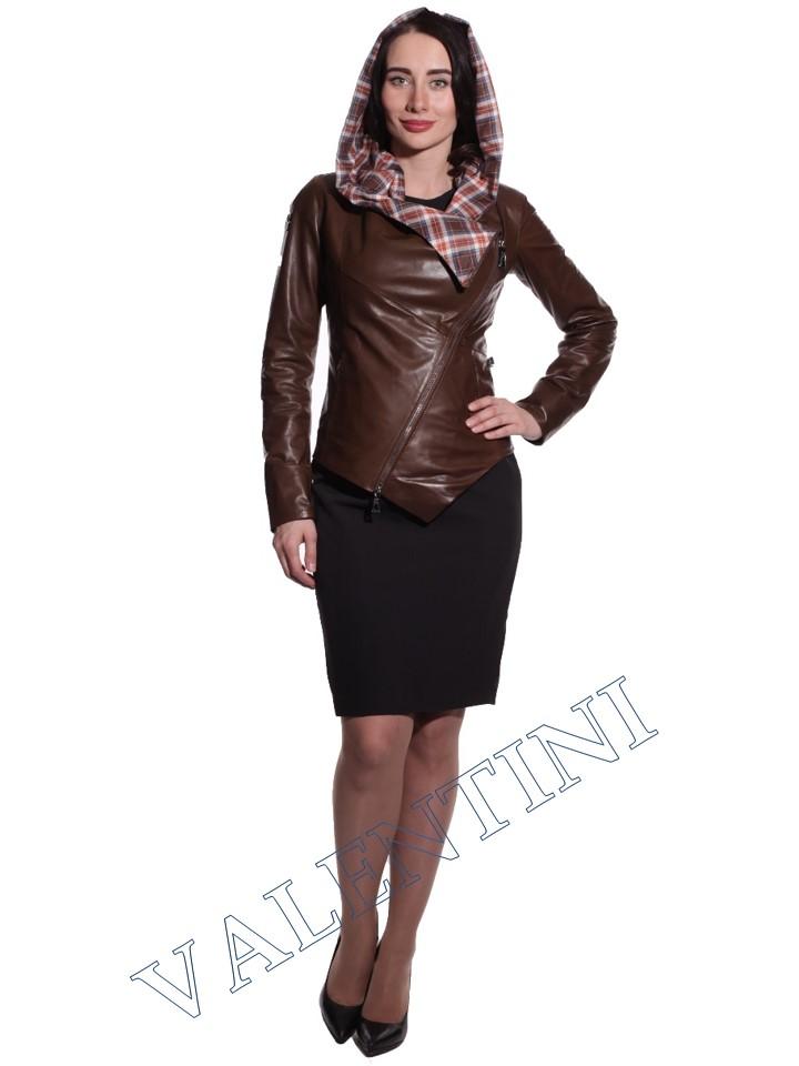 Куртка кожаная VALENTINI 016-105