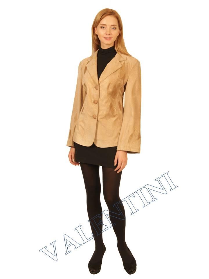 куртка кожаная STELLA DORO 2502