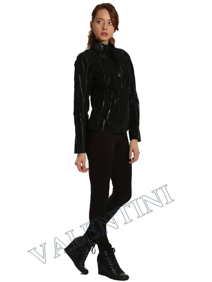 Замшевая куртка VALENTINI 2192