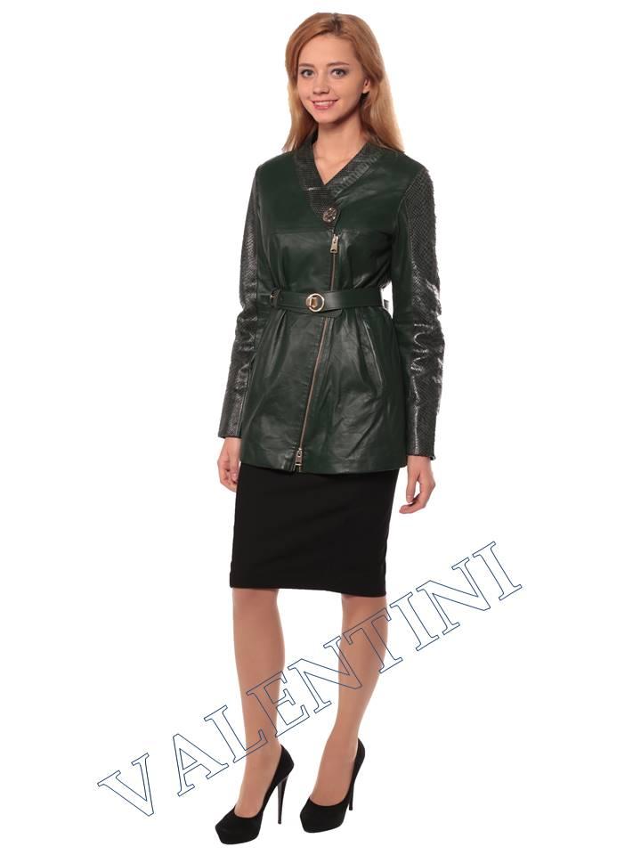 Женская кожаная куртка VALENTINI 2286