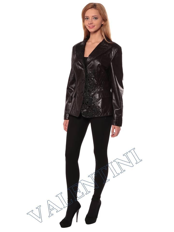 Женская кожаная куртка STELLA DORO 4269