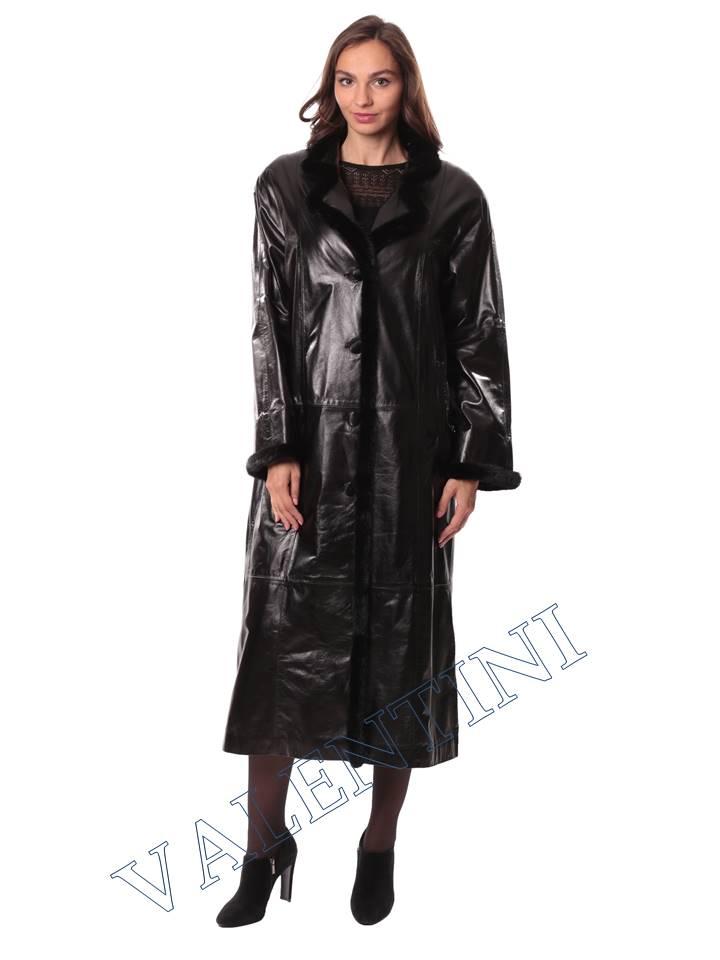 Кожаное пальто GALOPPI 5054