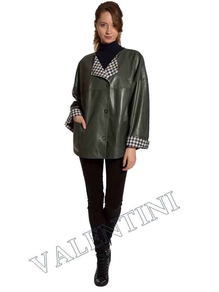Кожаная куртка VALENTINI 017-116