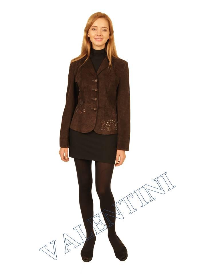 Пиджак кожаный STELLA DORO 5820