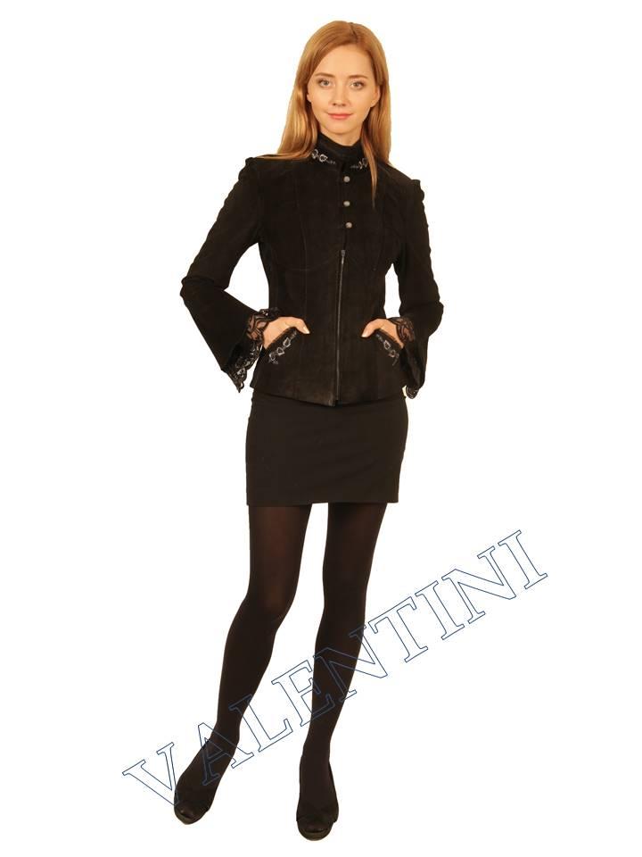куртка кожаная STELLA DORO 5443