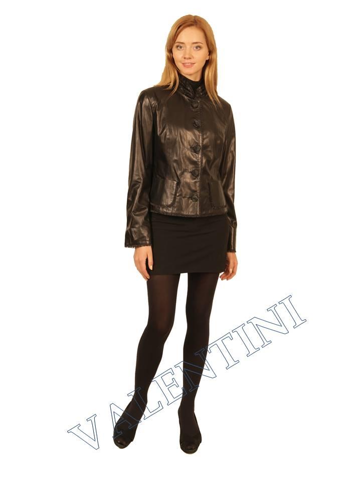 Куртка кожаная STELLA DORO 14042