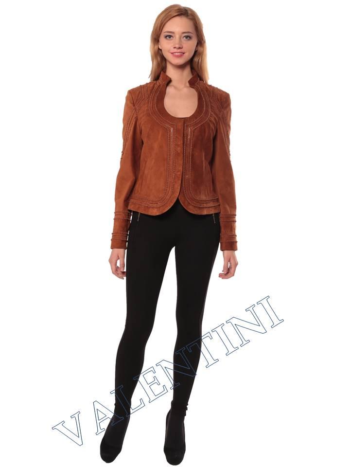 Женская кожаная куртка STELLA DORO 5756