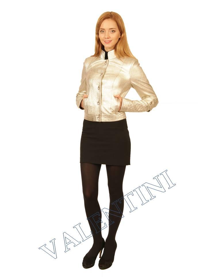 Куртка кожаная VALENTINI 2144