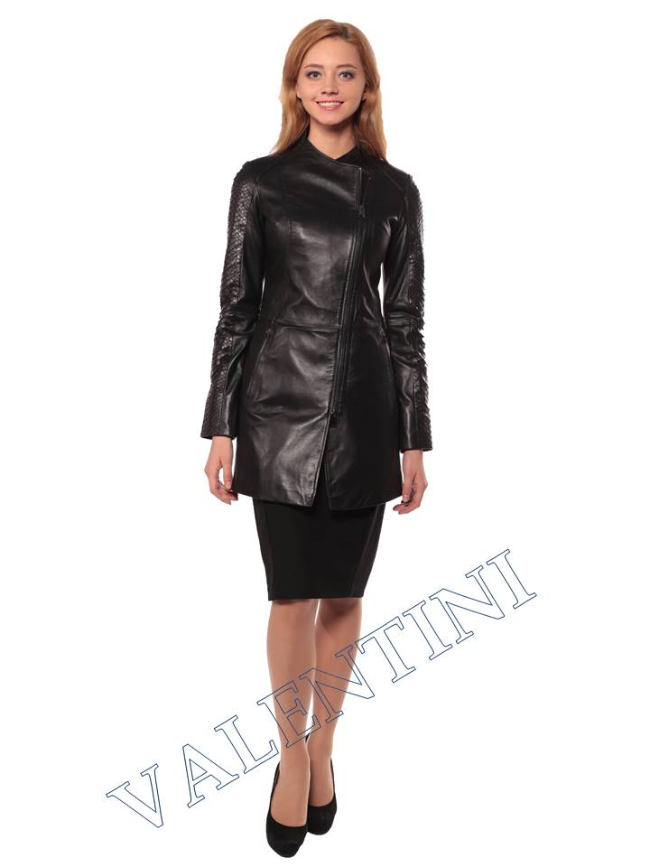 Женская кожаная куртка VALENTINI 2287