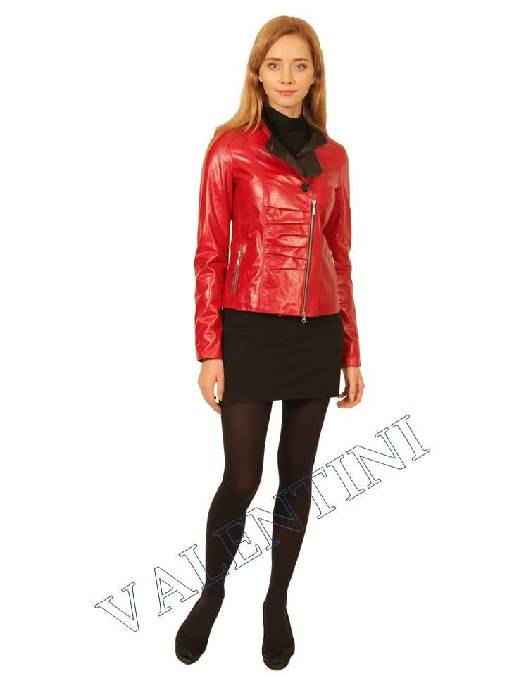 Куртка кожаная VALENTINI 2254
