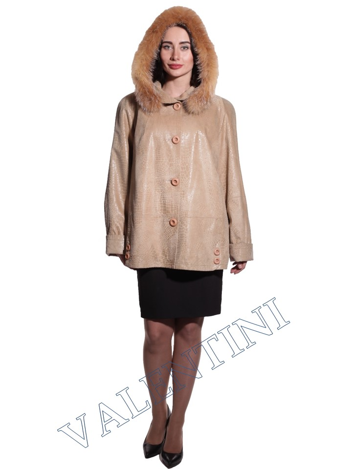 Куртка кожаная STELLA DORO 3775