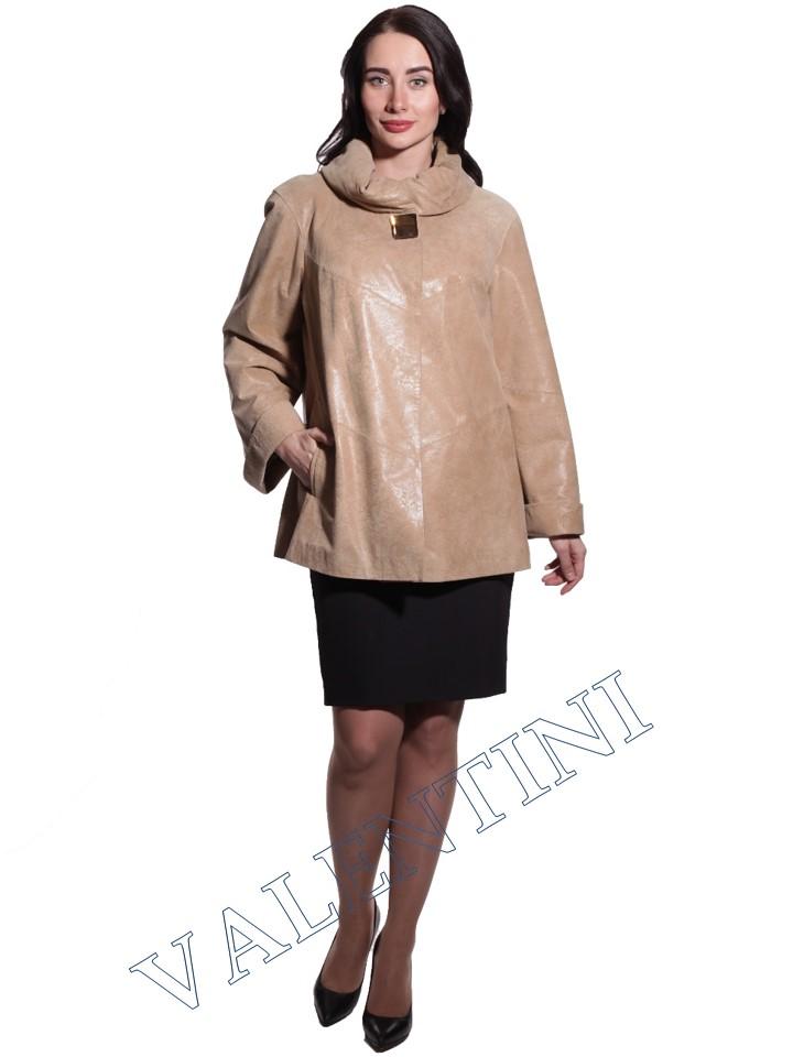 куртка кожаная STELLA DORO 3283