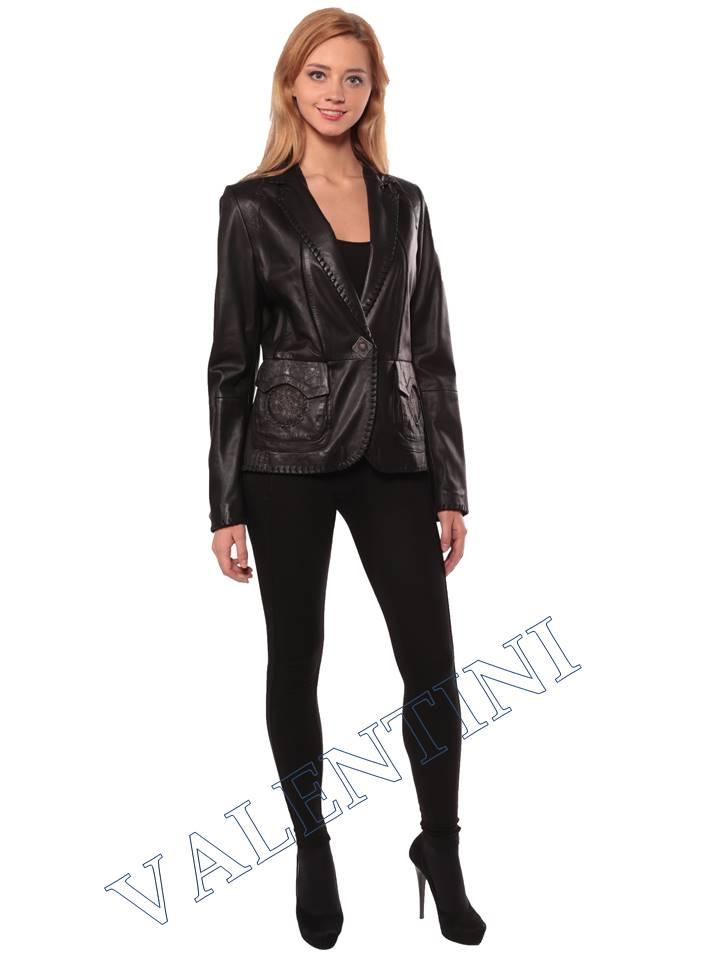 Женская кожаная куртка SUED MOD faustina