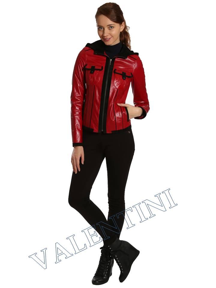 Кожаная куртка VALENTINI 2253