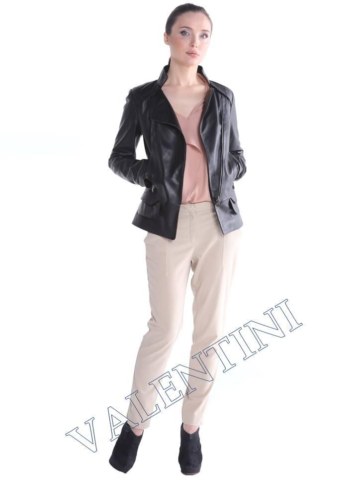 Кожаная куртка CARNELLI мод 019-051