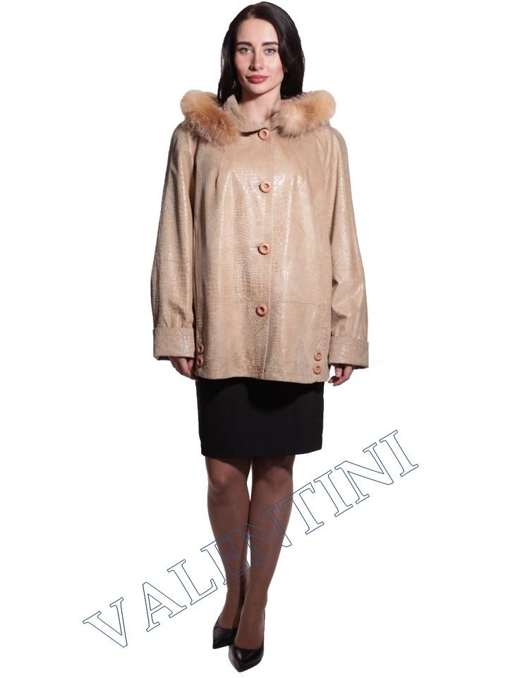 Куртка кожаная STELLA DORO 3775 - 1