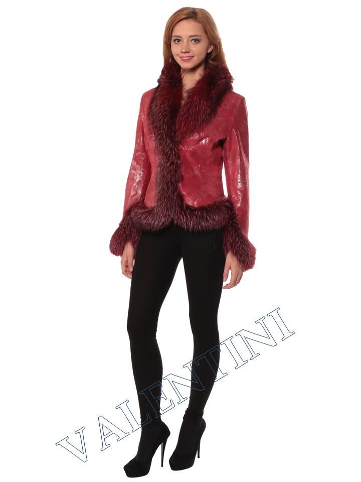 Женская кожаная куртка STELLA DORO 5354 - 1