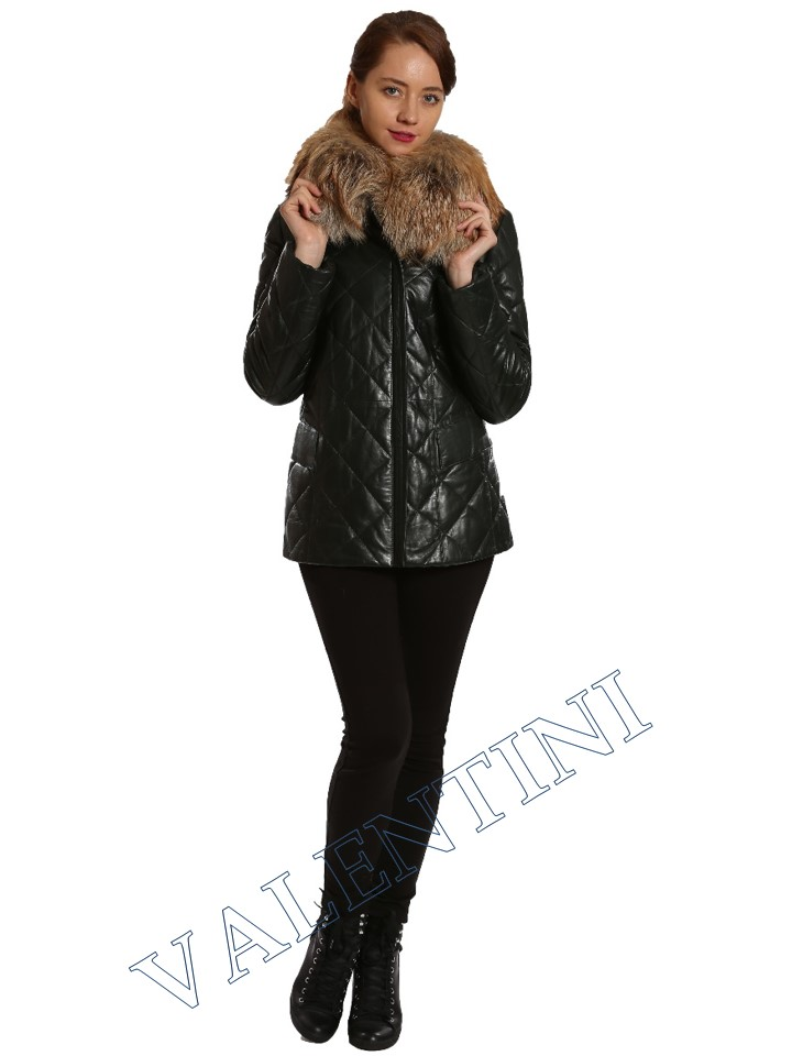Кожаная куртка GALOPPI 5015-70 - 3