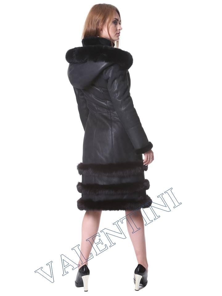 Женская дубленка VALENTINI мод. Senay - 4