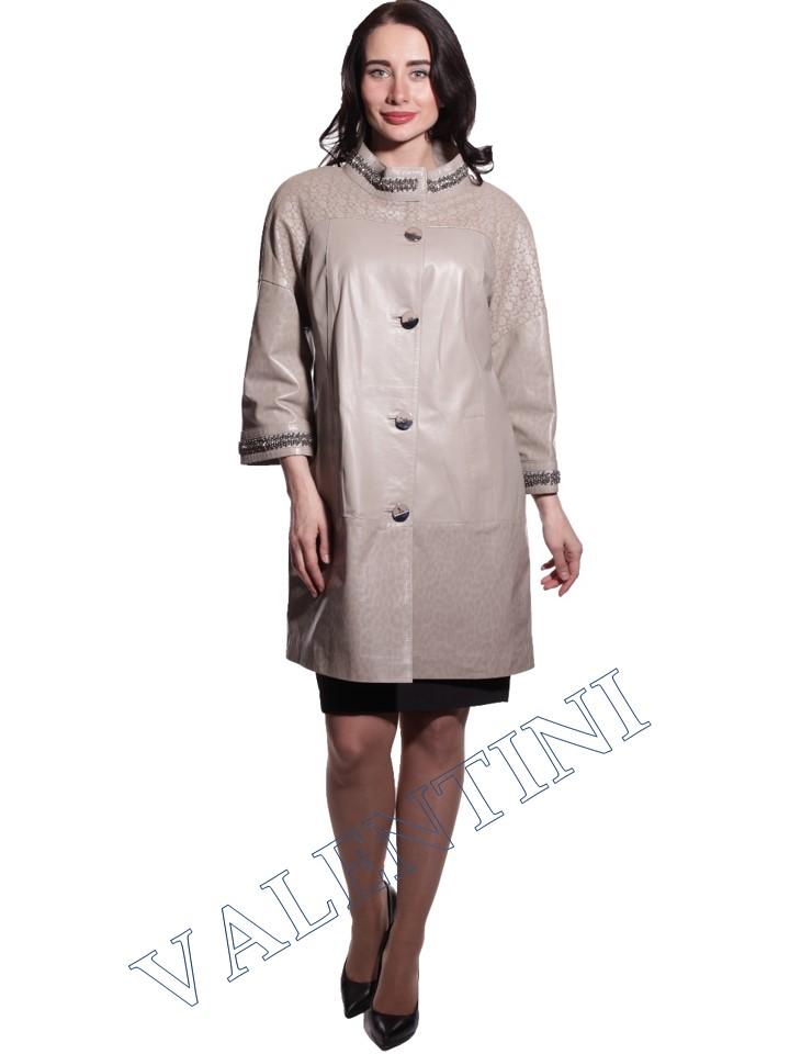 куртка кожаная PANTERREZ 3116