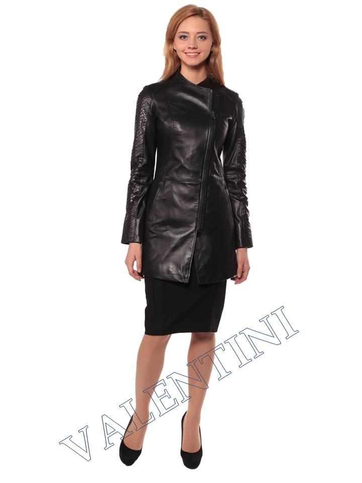 Женская кожаная куртка VALENTINI 2287 - 3