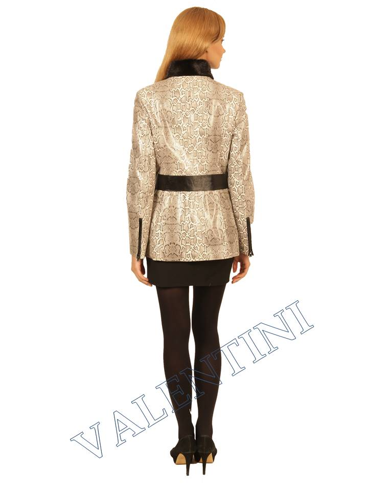 куртка кожаная PANTERREZ 246 - 5
