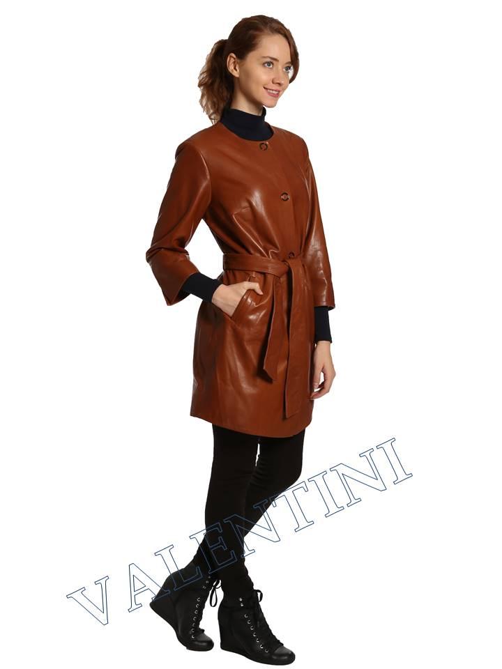 Кожаная куртка VALENTINI 017-117-1 - 4