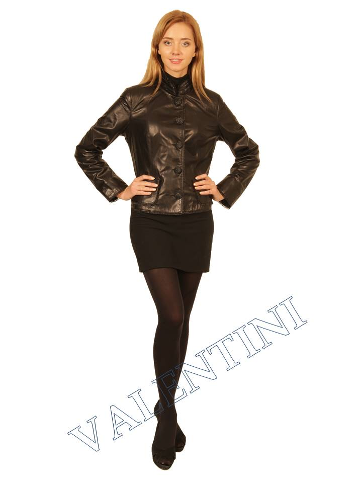 Куртка кожаная STELLA DORO 14042 - 1