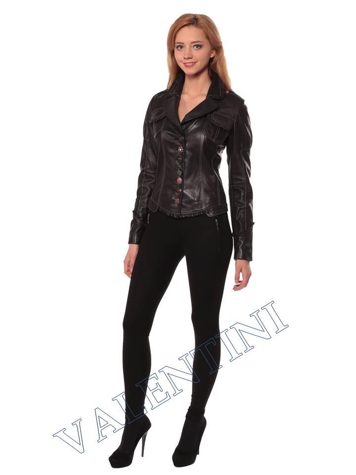 Женская кожаная куртка SUED MOD fimia - 1