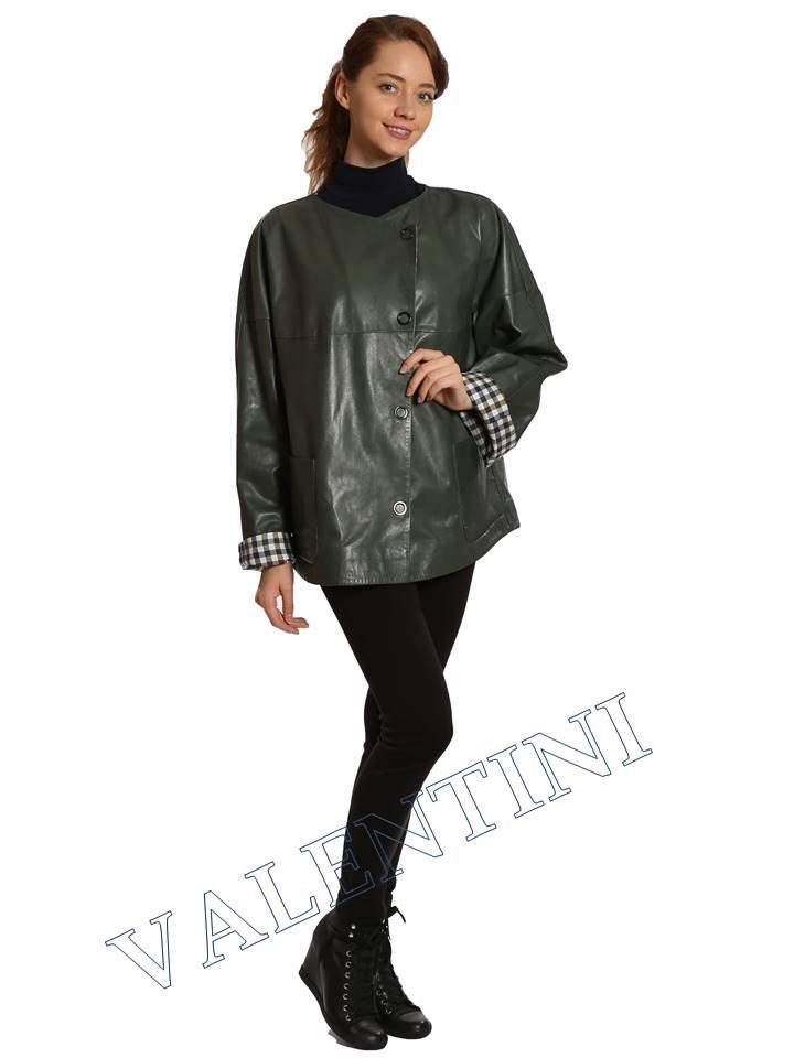 Кожаная куртка VALENTINI 017-116 - 5