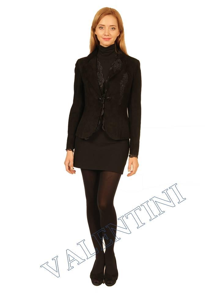 Куртка кожаная STELLA DORO 5675 - 5