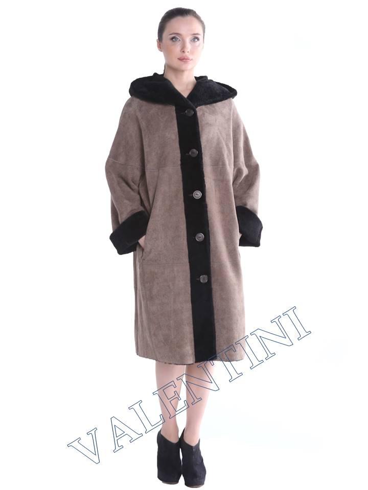 Женская дубленка VALENTINI мод.338-100-1 - 1