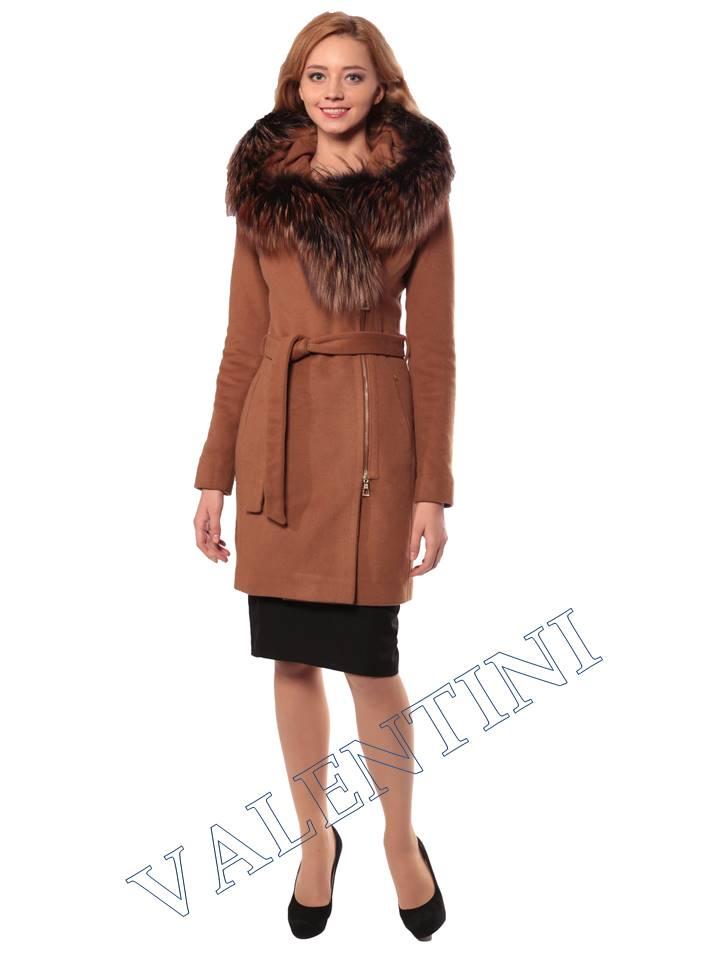 Женская кожаная куртка VALENTINI 3975
