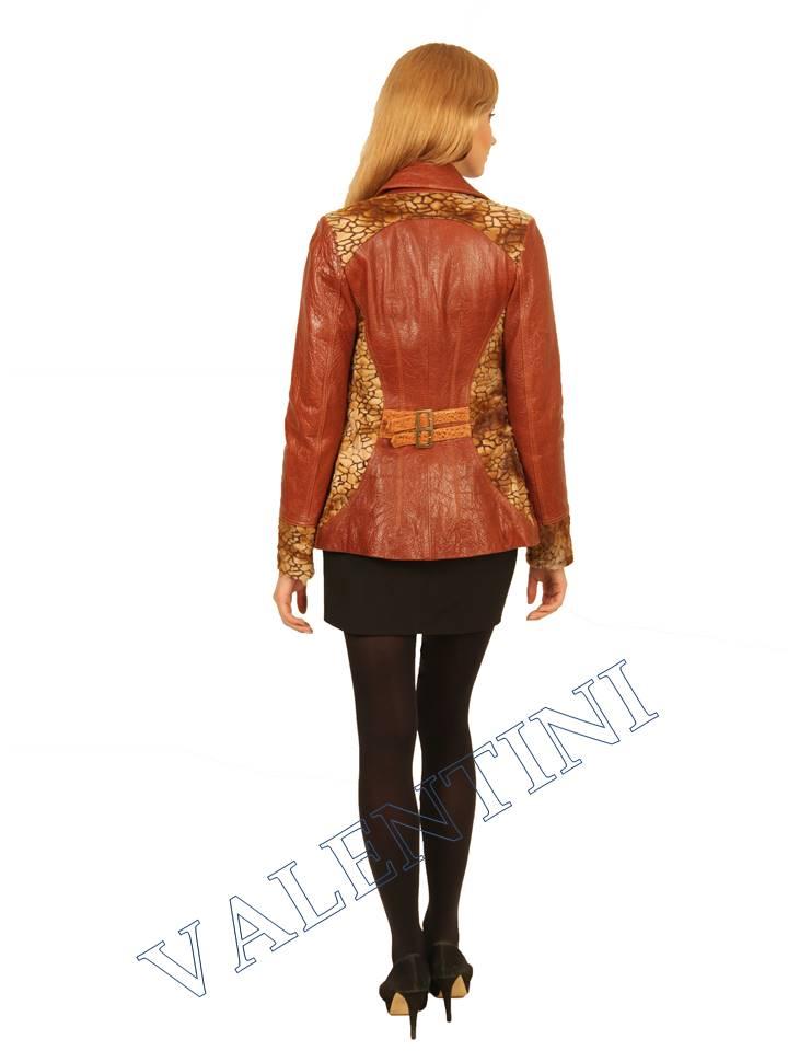 Куртка кожаная VALENTINI 2073 - 4