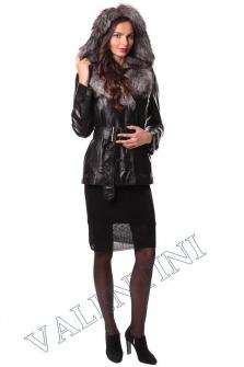 Кожаная куртка с чернобуркой VALENTINI L-30(70) – 1