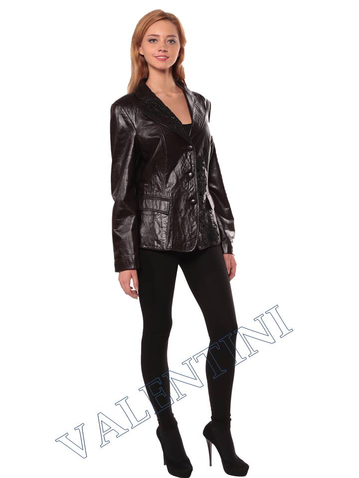 Женская кожаная куртка STELLA DORO 4269 - 3