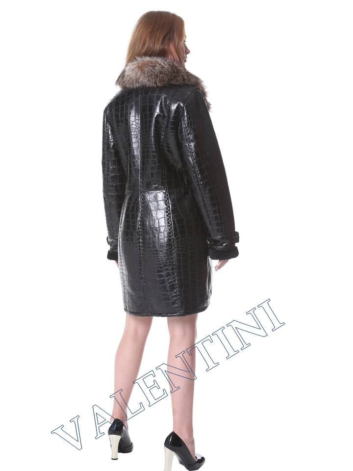 Женская дубленка VALENTINI мод.652 - 5