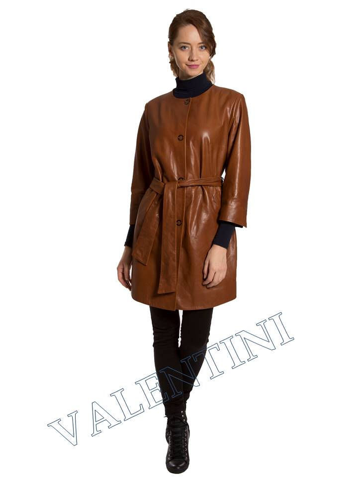Кожаная куртка VALENTINI 017-117-1 - 1