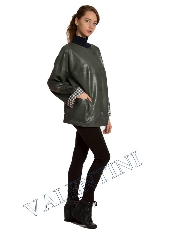 Кожаная куртка VALENTINI 017-116 - 6