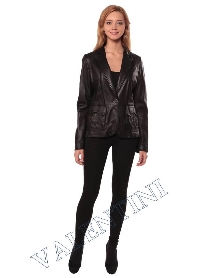 Женская кожаная куртка SUED MOD faustina - 1