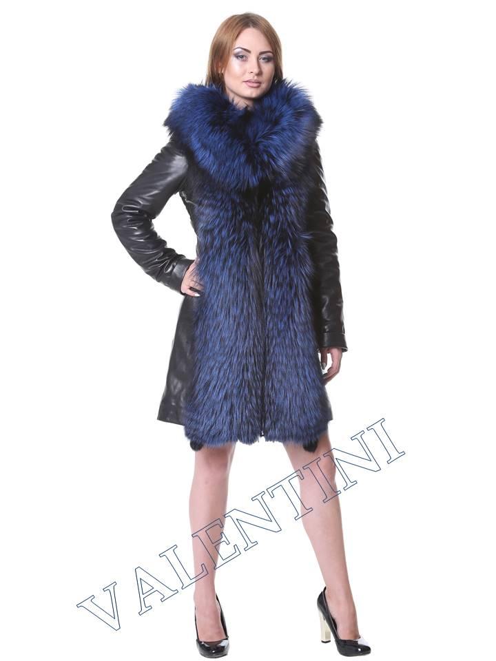 Кожаная куртка VALENTINI мод.2240 - 1
