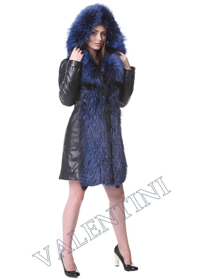 Кожаная куртка VALENTINI мод.2240 - 6