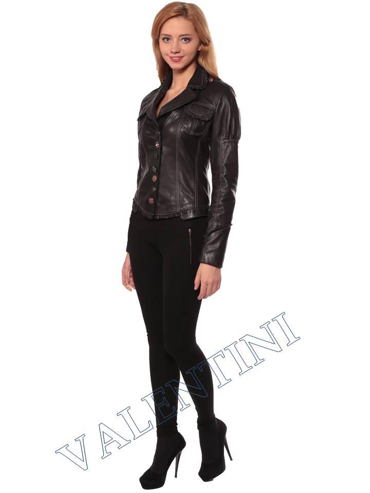 Женская кожаная куртка SUED MOD fimia - 4