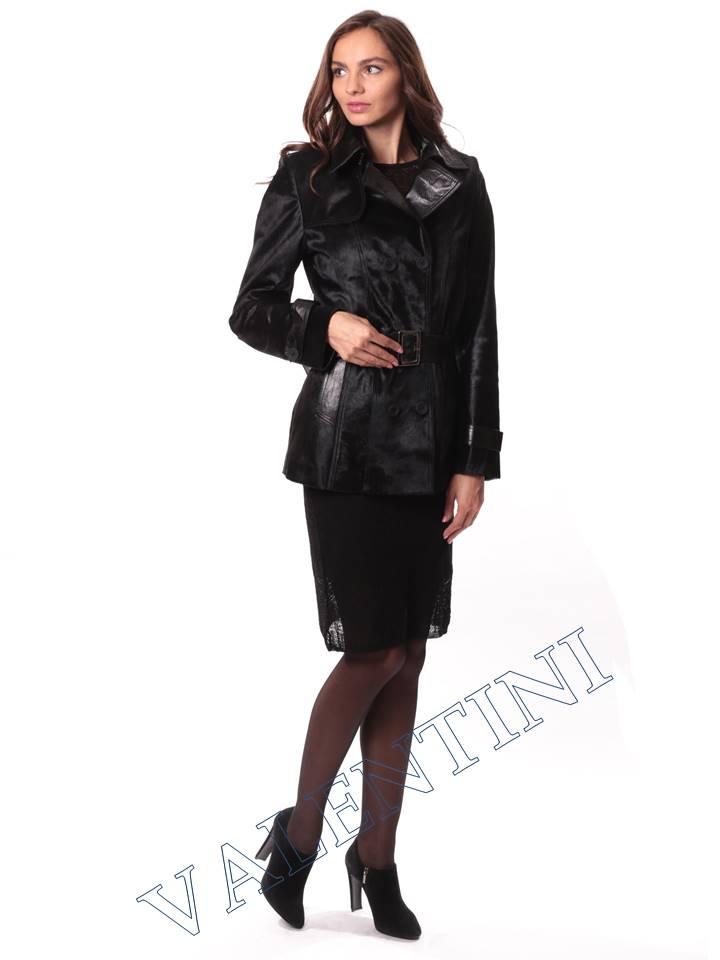Кожаная куртка из теленка VALENTINI L-30-75 - 3