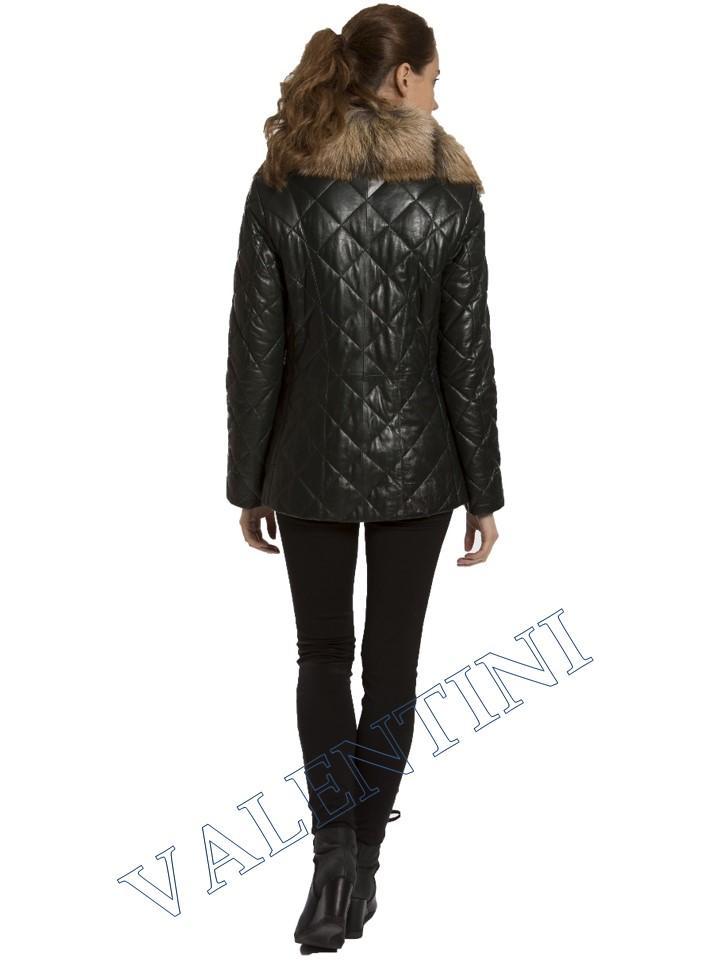 Кожаная куртка GALOPPI 5015-70 - 6