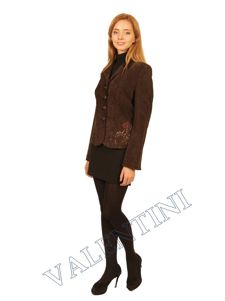 Пиджак кожаный STELLA DORO 5820 - 1