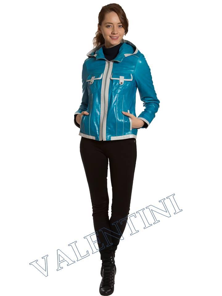 Кожаная куртка VALENTINI 2253-1 - 1