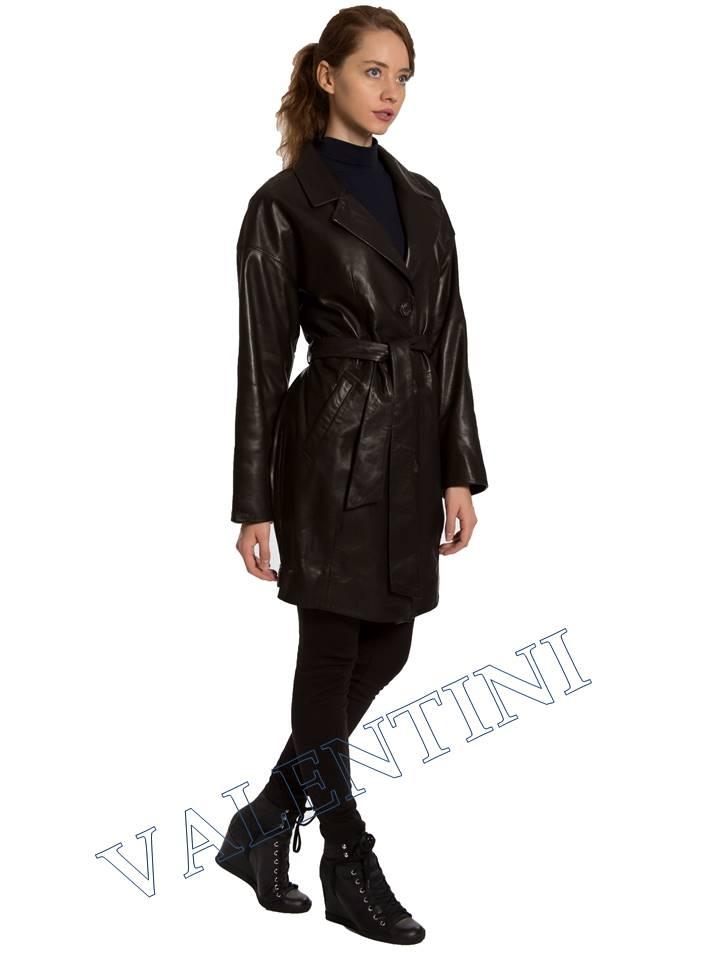 Кожаная куртка VALENTINI 017-120 - 4