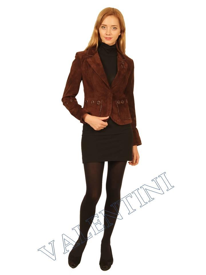 Куртка кожаная STELLA DORO 5433 - 5
